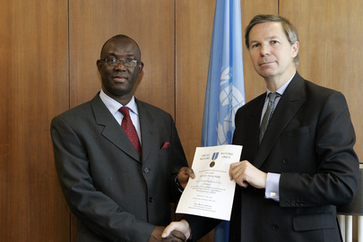 Force Commander for United Nations Operation in Côte d'Ivoire Honoured