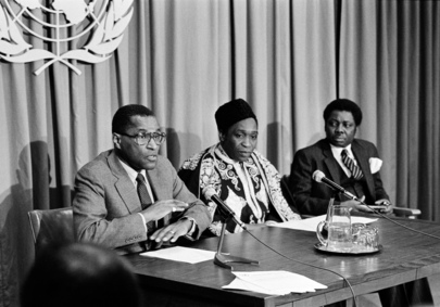 Press Conference by Chairman of Special Committee Against Apartheid