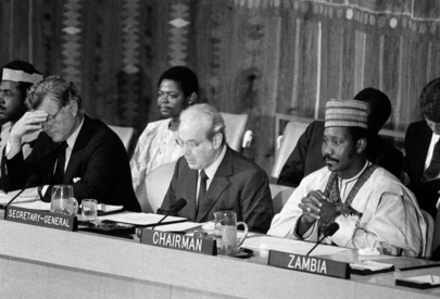 Secretary-General Addresses Conference Against Apartheid