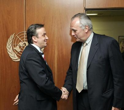 Bosnia and Herzegovina Chairman of Council of Ministers Meets With Deputy Secretary-General