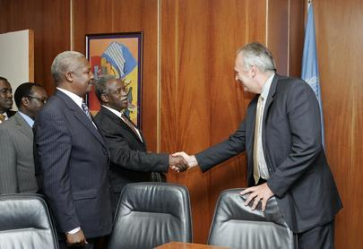 Deputy Secretary-General Meets With Ugandan Ministers