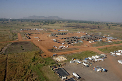 United Nations Residential and Bangladesh Militray Contingent Camps in Sudan