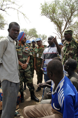 Force Commander of United Nations Mission in Sudan Tours