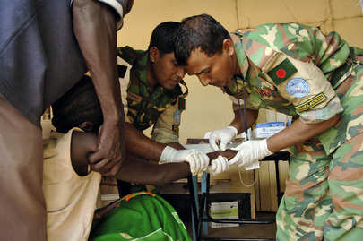 Bangladesh Army Contingent Medics Help Fight Cholera Outbreak in Sudan