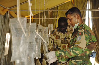 Bangladesh Army Contingent Medic Helps Fight Cholera Outbreak in Sudan