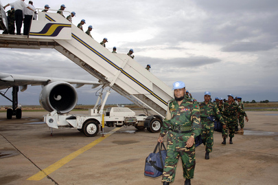 Last Group of Bangladeshi Peacekeepers Arrives in Sudan as Part of UN Mission