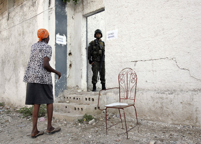Haitians Vote in Parliamentary Elections