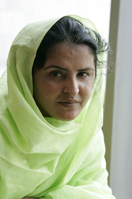 Portrait of Mukhtar Mai, Education and Women's Rights Activist
