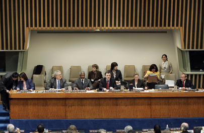 Annan Attends Commission on Sustainable Development Meeting
