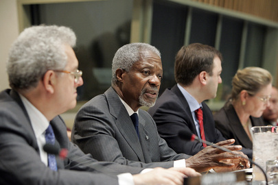 Annan Addresses Commission on Sustainable Development Meeting