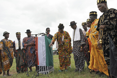 Traditional Chiefs Bless Côte d'Ivoire Identification Process