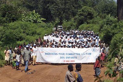 World Food Programme and Partners March against Hunger in Burundi