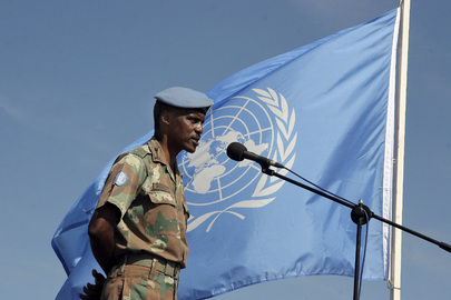Celebrating UN Peacekeepers Day in Burundi