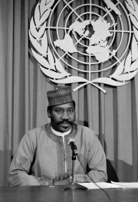 Press Conference by Anti-Apartheid Committee Chairman