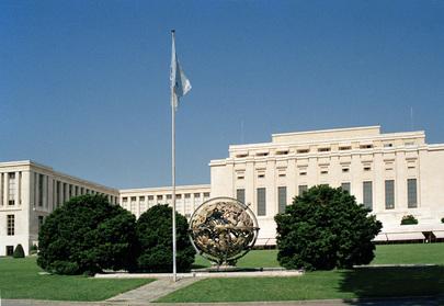 Palais des Nations, em Genebra, Suíça. Foto: UN Photo/P Klee