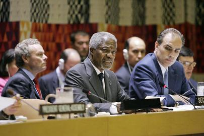Annan Addresses Inaugural Session of Peacebuilding Commission