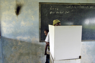 Liberians Vote for Senatorial Run-off Election