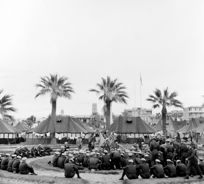 UNEF TROOP IN PORT SAID CELEBRATE CHRISTMAS