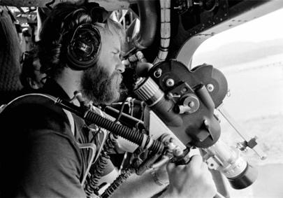 United Nations Cameraman at Work