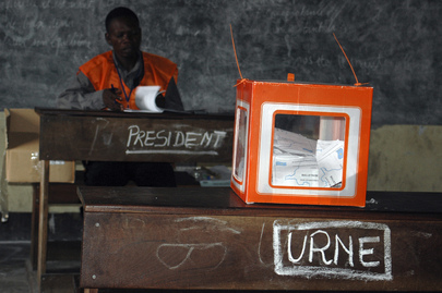 Referendum Voting in DR Congo
