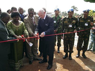 MONUC Rebuilds Airport in DR Congo