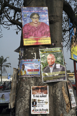 Electoral Banners in Kinshasa