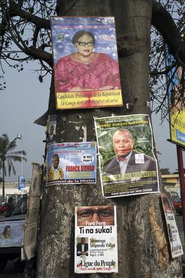 Electoral Banners in Kinshasa