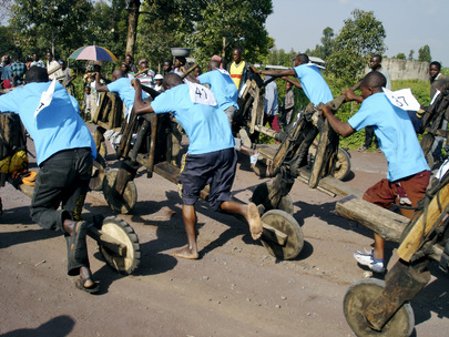 Tchukudus Race in DR Congo