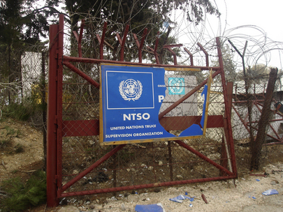 UN Military Observers Killed by Air Strike in Lebanon