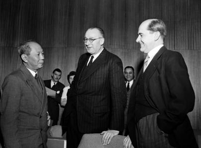 Palestine Commission: 1st Meeting