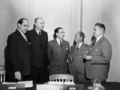 UN Palestine Commission: 1st Meeting