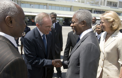 Secretary-General Visits Haiti
