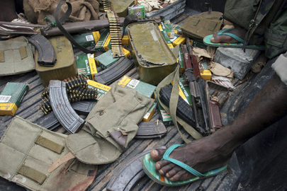 Ammunition Collected From Militias in Cte d&#039;Ivoire