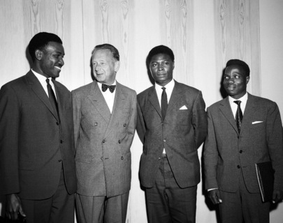 Congolese Representatives Arrive at United Nations