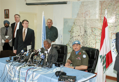 Secretary-General Addresses Press Conference at UNIFIL