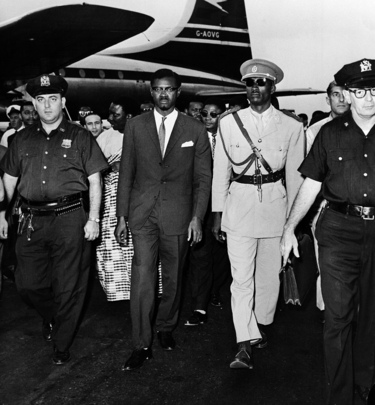 Premier of the Republic of the Congo Arrives in New York