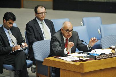 Special Representative for Sudan Briefs Security Council