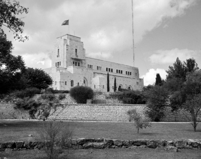 UNTSO Headquarters in Government House, Jerusalem