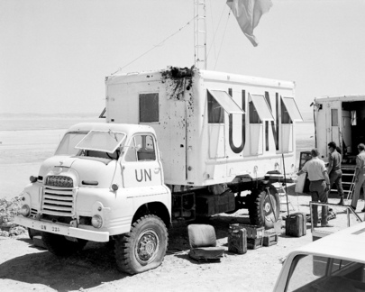 UN Truce Supervision Organization (UNTSO) Military Observer Operation in the Suez Canal Sector