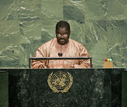 Gambia Addresses General Assembly