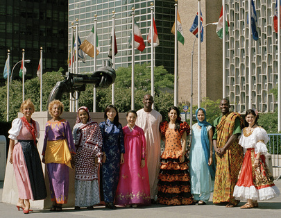 UN Tour Guides at United Nations Headquarters