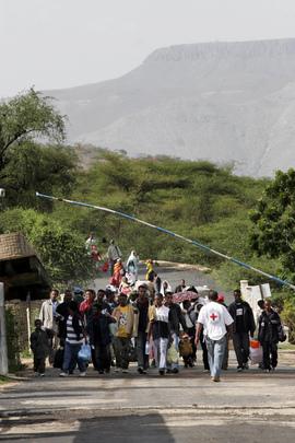 Ethiopians Repatriated