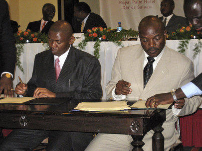 Warring Parties in Burundi Sign Peace Accord