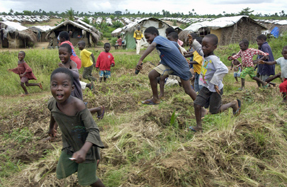 IDPs Camp in Liberia