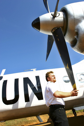 United Nations Plane in Democratic Republic of the Congo