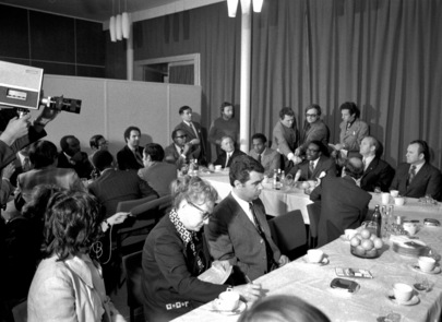 Apartheid Committee Holds Meetings in Berlin