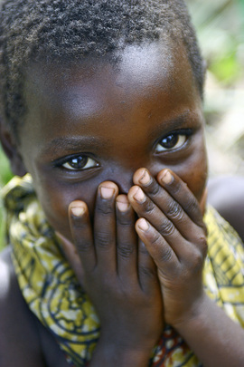 Young Girl in DR Congo