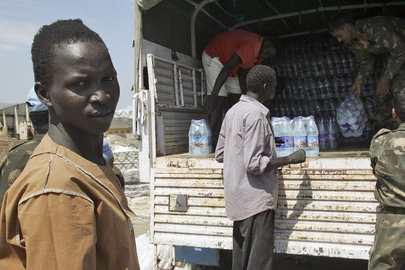 Sudan Town Receives Water Consignment