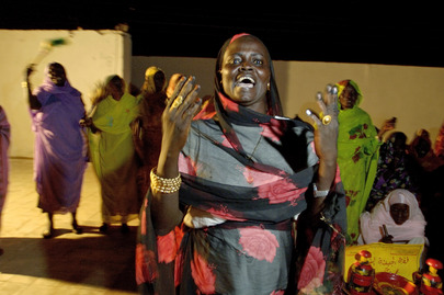 Women Rehearse for Peace and Reconciliation Performance in Sudan