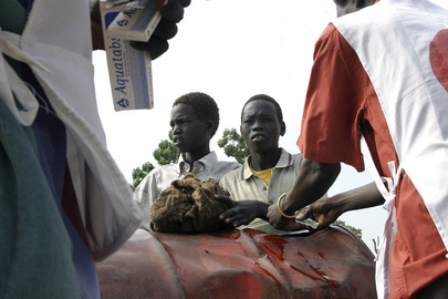 Humanitarian Workers Distribute Needed Supplies in Sudan